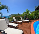 Sunbaking Deck by the Pool